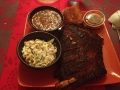 ribs-coleslaw-black-beans-corn-bread