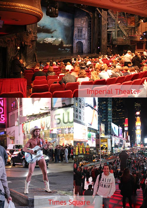 Times Square & Broadway