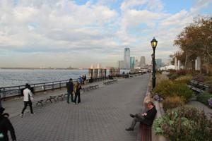 Front de mer devant Battery Park