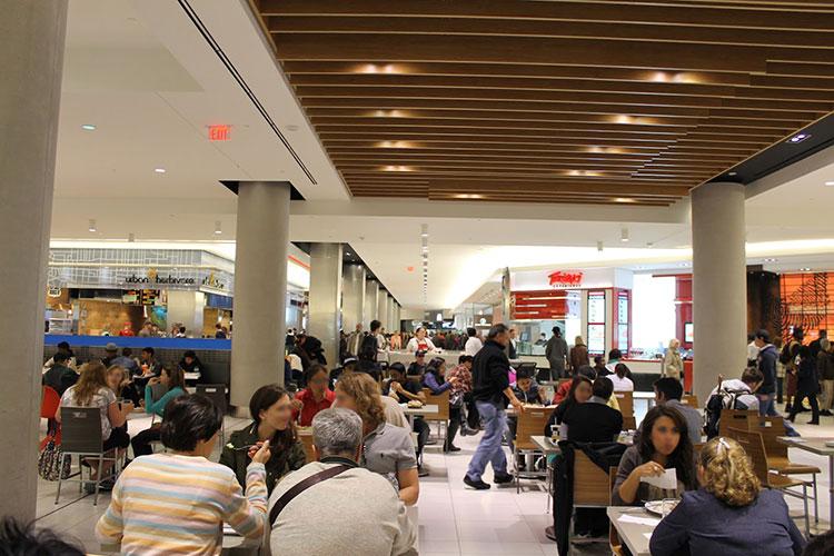 Qu'est ce qu'un food court au Canada ?