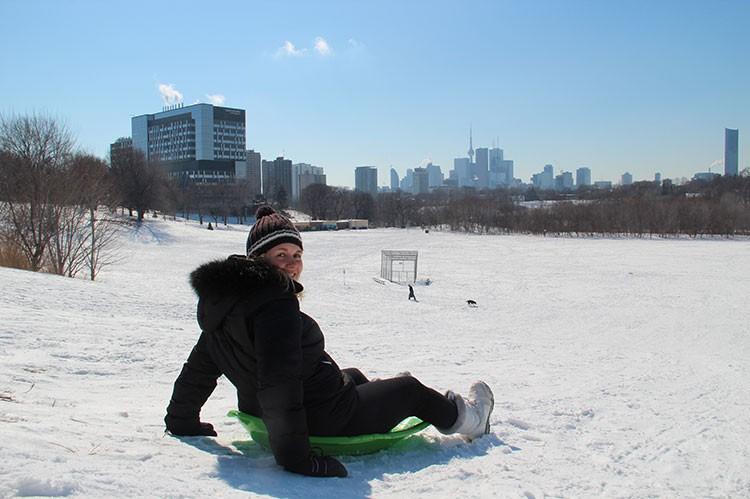 Où faire de la luge à Toronto ?