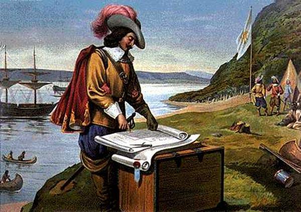 Champlain fonde la ville de Québec
